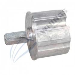 casquillo para tubo de 70mm