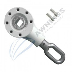 Gear box for awning